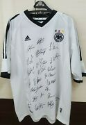 Germanysecond Place Squad Autographic Jersey, 2002 Fifa World Cup Korea/japan