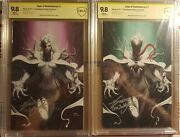Edge Of Venomverse 1 Cbcs Ss Signed By Inhyuk Lee 2 Books 9.8/9.8