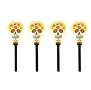 Day Of The Dead Skull Lighted Driveway Markers As O1
