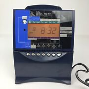 Acroprint Es1000 Self Totaling Time Recorder Clock Untested Powers On