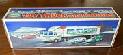1997 Hess Toy Truck And Racers Friction Motors Collectors Mint Sealed