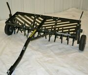 Power-tek Aerator Commercial 48 Tow Pull Behind Aerator Core Towable Tow Able