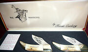 Very Rare Warriors Knives By Frost Cutlery