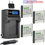 Kastar Battery Lcd Ac Charger For Sony Np-fe1 Npfe1 And Sony Cyber-shot Dsc-t7/b