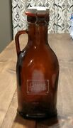 Rare Game Of Thrones/brewery Ommegang 1liter Glass Beer Growler Fast Shipping