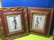 Vintage French Colonial Army Soldiers Comanders Wall Art Pictures Prints