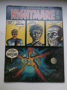 Skywald Nightmare 14, Awesome Sci-fi Creepy Cover, 1973, Fn 6.0
