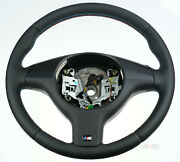 Rare Oem Bmw Z3 Steering Wheel Dual Stage With Slip Ring Thick+soft+m Stitching