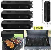 4-pck Heat Plate Tent Flavorizer Bars Replacement For Charbroil Kenmore Master