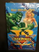 Marvel Overpower Iq - Factory Sealed Booster Box - Ultra Rare