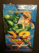 Marvel Overpower Iq - Partially Sealed Booster Box - Ultra Rare