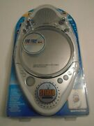 New Jwin Shower Radio Cd Player Am Fm Stereo W Fogless Mirror And Lcd Dis Jx-m85