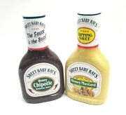 Sweet Baby Ray's Honey Chipotle Barbecue Sauce + Honey Mustard Dipping Sauce 2pk