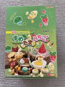 Re-ment Beans Miniatures 8 Sets With All Boxes Dollhouse Rare Strawberry Eggs