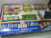 Toy State My First Abc Kid's Express G Gauge Scale Train Set Tr2177