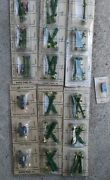 Vintage O Scale Model Trains Scenery Parts Railroad And Street Lights Mailbox Men