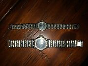 Longines Vintage his And Hers Watches Year 1994 Stainless Steel Gold . Quartz