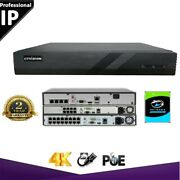Ctvision Ip Cctv System 5mp Camera Security System Network Poe Nvr 4 8 16 Ch