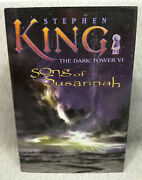 Stephen King Song Of Susannah The Dark Tower Vi Book 1st Edition First Printing
