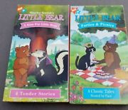 Little Bear Picnics And Parties Vhs A Kiss For Little Bear 2 Tapes