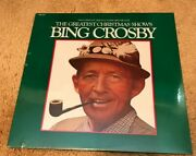 Bing Crosby The Greatest Christmas Shows Radio Broadcasts Lp 1978 Sealed