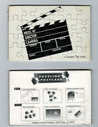 New Clapboard Production Slate Puzzle Postcards Set Of 10 Cards Post Cards