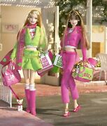 Mattel gold Label Juicy Couture Barbie Collectible Dolls 2004 Unused