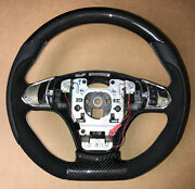 C6 D-type Superdeluxe Steering Wheel W/carbon On Top And Bottom 2012-13