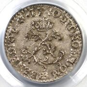 1740-bb Pcgs Ms 62 French Colonies Sou Marque 1/2 Sm