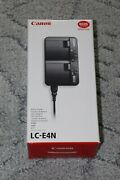 Canon Lc-e4n Battery Charger Genuine Original For Eos-1d X Mark Ii/1d X/1d C
