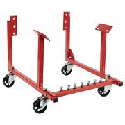 Rolling Engine Cradle Stand Chevy V8 W/ Wheels