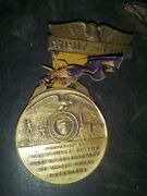 Ww-1 Military Democracy Metal Justice And Peace Schenectady New York 19 17-19