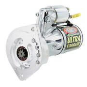 Powermaster Starter 19404 Ultra Torque Chrome 2-hole For Ford 289/302/351w Sbf