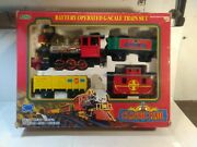 Echo Classic Rail Battery Operated G Gauge Scale Train Set Tr2181