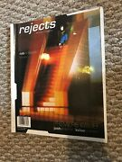 Rejects Issue 1 Premier Aggresive Skate Magazine Rob Thomson Mindgame Kelso