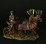 Tin Soldiers Museum Top Ramses Ii War Chariot 90 Mm Ancient Egypt