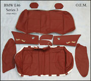 Seat Covers For Front And Rear For Bmw E46 Series 3 Oem