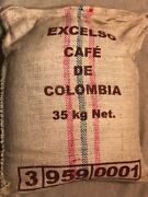 20 Bags Each 5lb Bags Colombian Roasted Coffee Beans