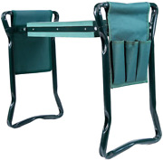 Ohuhu Garden Kneeler And Seat With 2 Bonus Tool Pouches Foldable Garden Bench S