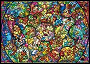 2000pcs Jigsaw Puzzle Tenyo Disney All Stars Characters Stained Glass Japan