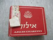 Ayalon An Old Empty Cigarette Pack, 30 Cigs.,dubek, Israel, 50's. 4