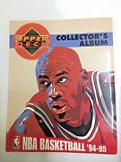Upper Deck Cards Collectors Album Nba Basketball 94-95 French Edition