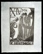 And03920/and03977 French Block Print The Way Of The Cross Jean Charlot 1898-1979mod14