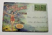 Vtg.1930's - 40's Silver Springs Florida Folding Post Card Book Complete Early