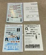 Microscale Decals 87-454 And 87-233 45' 40' Trailers Preferred Pool Milwaukee Coop