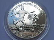 West African States 1000 Francs 2004 Football Fifa 2006 Silver