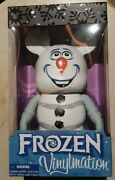 Large 9 Walt Disney Vinylmation Olaf From Frozen New And Sealed In Box