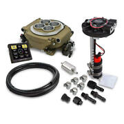 Holley Sniper Efi And Ignition Kit 550-516d-gmbk Returnless 650hp Tbi For Sbc Bbc