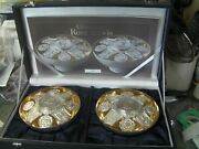 Royal Mint Classic. Solid Silver Pair Of English Rose Bowls 1320grms