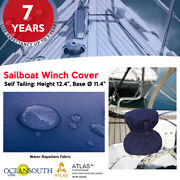 Oceansouth Sailboat Winch Cover Andndashself Tailing- Height 12.4- Base 11.4 Diameter